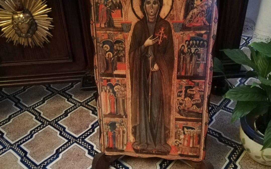 Ringraziamento di Suor Chiara Elena per i 20 anni di professione temporanea nella nostra sororità di monache Clarisse cappuccine