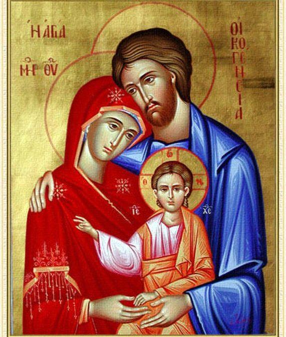 Festa della Santa Famiglia di Gesù, Maria e Giuseppe – Anno A