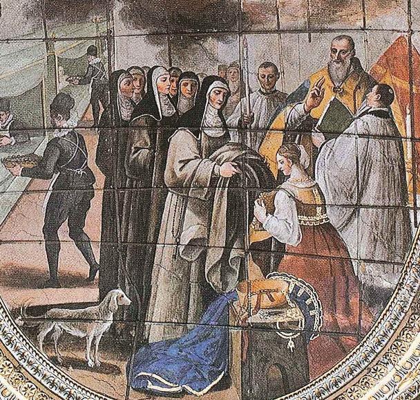 2. La monacazione di Maria Longo