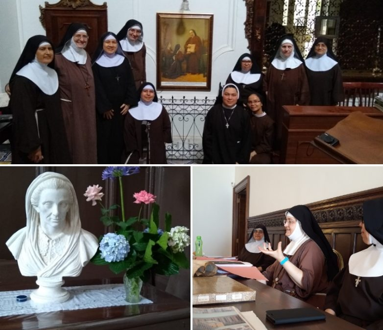 Festa in monastero per la visita di 7 sorelle
