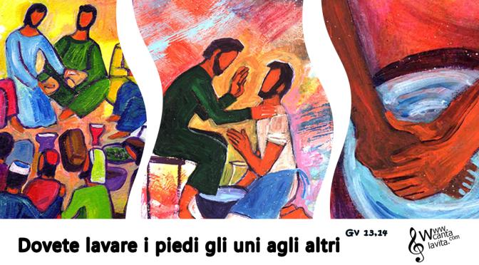 Giovedì Santo, Messa Vespertina in Cœna Domini (Anno A)